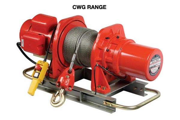 Comeup Electric Winches CWG Range