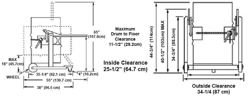 Drum Carrier Diagram