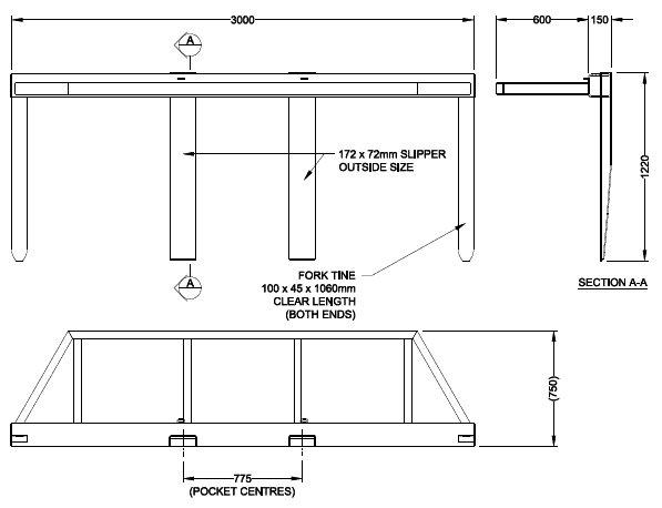 FS3 LG Spreader Diagram