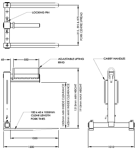 Pallet Hook Diagram