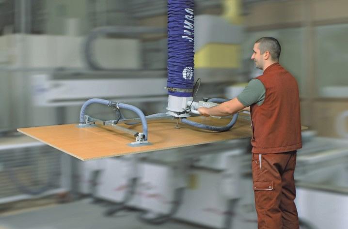 Jumboergo Vacuum Tube Lifter Schmalz Active Lifting
