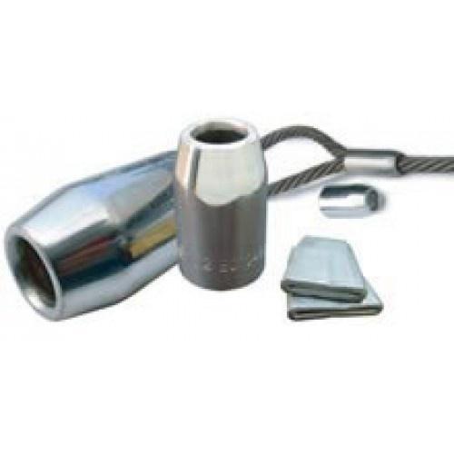 Flemish eye steel sleeve slings active lifting equipment