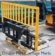 QH-Merlo Double Fork Carriage