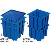 All Poly Pallet Bin