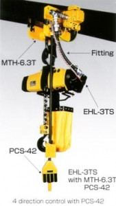 Endo Air Hoists - MTH Trolley Series
