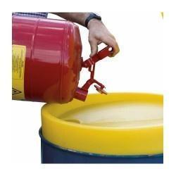 PSRDH008 Spill Funnel Lid with Debris Strainer for 205L