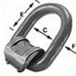 LBS (S/S) Stainless steel load ring