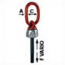 WBG-V Swivel ring bolt - Metric