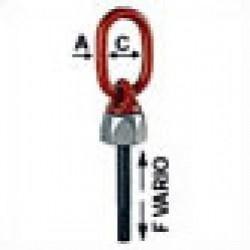 WBG-V Swivel ring bolt - Metric
