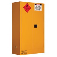 PRATT Flammable Storage Cabinet 250L 2 Door, 3 Shelf