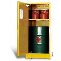 STOREMASTA Flammable Liquid Storage SCV - 250 LITRE VERTICAL DRUM STORE