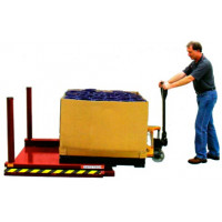 LoLift ultra low profile scissor lift table