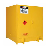 STOREMASTA Flammable Liquid Storage PS1000SS 1 Pallet Double Door