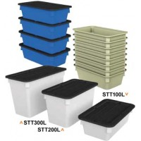 Polyethylene Storage Tubs